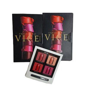 Urban Decay Vice and Dior Lipstick Samples